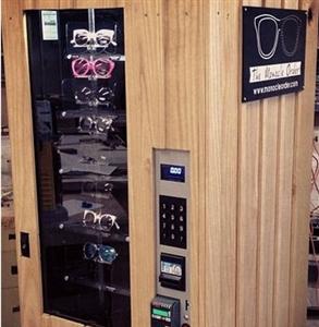 New York City Club Puts Sunglass Vending Machine On Rooftop.
