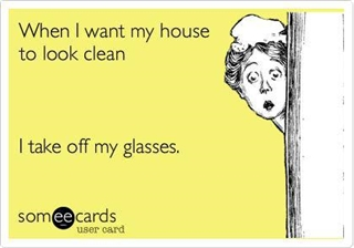 Optical Fun: Cleaning The House