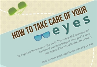 Saving Sight Sunday: How To Take Care Of Your Eyes Infographic