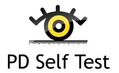 PD Self Test - Measure your pupillary distance by yourself