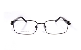 Poesia 6017 Stainless Steel Full Rim Mens Optical Glasses for Classic,Party,Sport,Nose Pads Bifocals