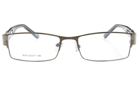 Vista First 1619 Stainless Steel Full Rim Mens Optical Glasses