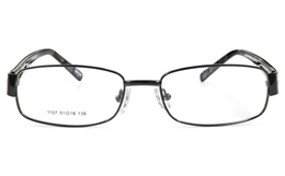 Vista First 1107 Stainless Steel Full Rim Womens Optical Glasses for Fashion,Classic,Nose Pads Bifocals