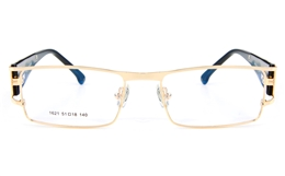 Vista First 1621 Stainless Steel Full Rim Womens Optical Glasses for Fashion,Classic,Nose Pads Bifocals