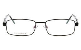 Poesia 6029 Stainless Steel Mens Womens Full Rim Optical Glasses for Fashion,Classic,Sport,Nose Pads Bifocals