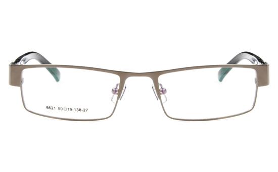 Poesia 6621 Stainless Steel Mens&Womens Full Rim Optical Glasses