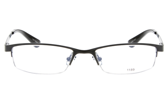 Stainless Steel Mens Amp Womens Semi Rimless Square Optical