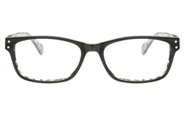 T6020 Acetate(ZYL) Mens Womens Full Rim Square Optical Glasses for Fashion,Classic,Party Bifocals