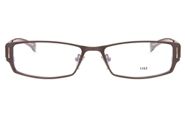 E1152 Stainless Steel Mens Full Rim Square Optical Glasses for Fashion,Classic,Party,Nose Pads Bifocals