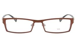 E1174 Stainless Steel/ZYL Mens&Womens Full Rim Square Optical Glasses