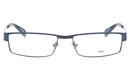 E1196 Stainless Steel Mens Full Rim Square Optical Glasses for Fashion,Classic,Party,Nose Pads Bifocals