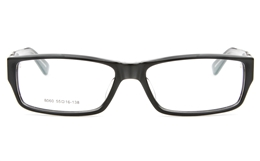8060 Acetate(ZYL) Mens Womens Full Rim Square Optical Glasses for Classic,Party,Sport Bifocals