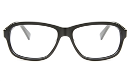 T6016 Acetate(ZYL) Mens Womens Full Rim Square Optical Glasses for Fashion,Classic,Party Bifocals
