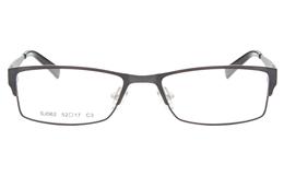 SJ062 Stainless Steel Mens&Womens Full Rim Square Optical Glasses