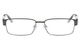 Z6579 Stainless Steel/ZYL Mens Full Rim Square Optical Glasses for Classic,Nose Pads Bifocals