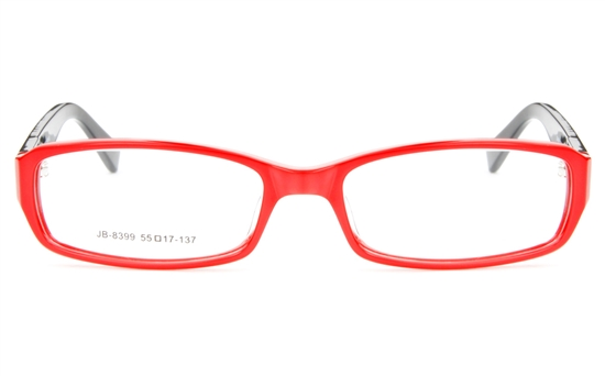 JB8399 Acetate(ZYL) Womens Full Rim Square Optical Glasses