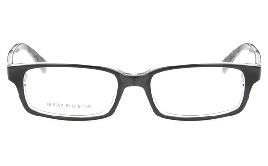 JB8357 Acetate(ZYL) Mens&Womens Full Rim Square Optical Glasses