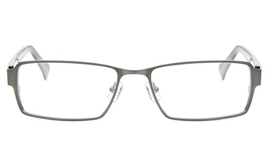 Z6593 Stainless Steel/ZYL Mens Full Rim Square Optical Glasses