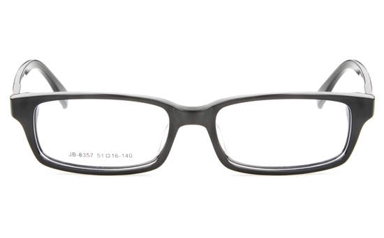 JB8357 Acetate(ZYL) Mens&Womens Full Rim Square Optical Glasses