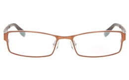 Z6612 Stainless Steel/TR90 Mens Full Rim Square Optical Glasses for Classic,Nose Pads Bifocals