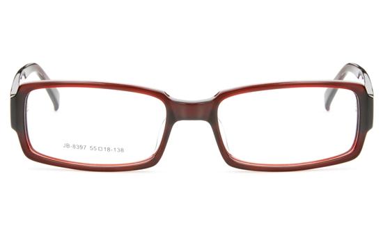 JB8397Acetate(ZYL) Mens&Womens Full Rim Square Optical Glasses