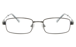 Vista First 2118 Titanium Memory Mens Womens Full Rim Square Optical Glasses for Fashion,Classic,Nose Pads Bifocals