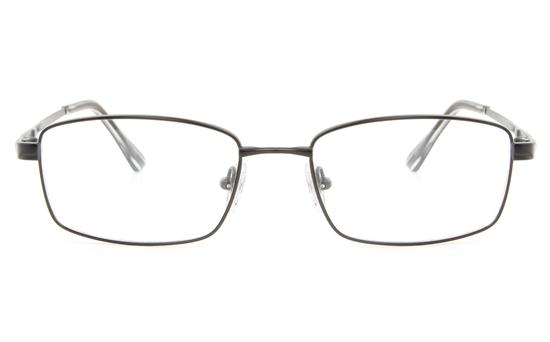 Vista First 2112 Titanium Memory Mens Full Rim Square Optical Glasses