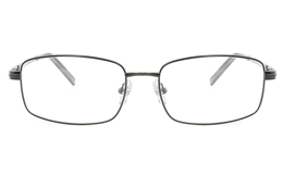 Vista First 2111 Titanium Memory Mens Full Rim Square Optical Glasses for Fashion,Classic,Nose Pads Bifocals