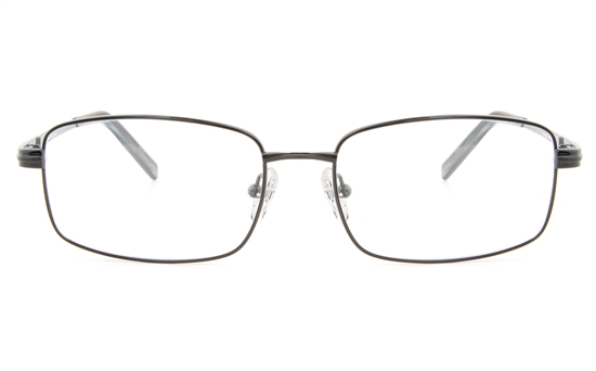 Vista First 2111 Titanium Memory Mens Full Rim Square Optical Glasses