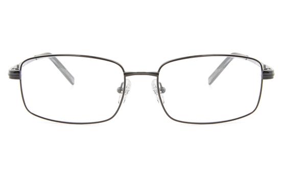 Vista First 2111 Titanium Memory Mens Full Rim Square Optical Glasses
