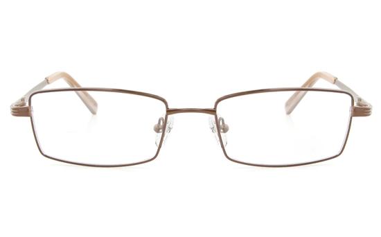 Vista First 2115Titanium Memory Mens Full Rim Square Optical Glasses