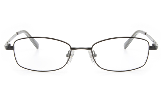 Vista First 2122 Titanium Memory Womens Full Rim Square Optical Glasses