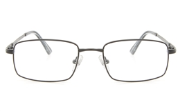 Vista First 2116 Titanium Memory Mens Full Rim Square Optical Glasses for Fashion,Classic,Nose Pads Bifocals