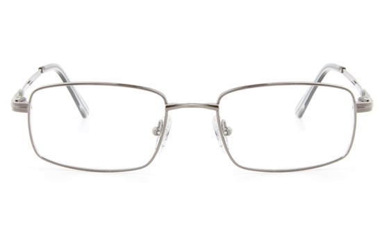 Vista First 2116 Titanium Memory Mens Full Rim Square Optical Glasses