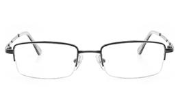Vista First 2120 Titanium Memory Mens&Womens Semi-rimless Square Optical Glasses