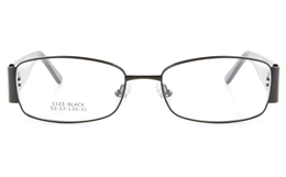 Vista First 1123 Stainless Steel/ZYL  Mens Womens Full Rim Optical Glasses - Oval Frame for Fashion,Classic,Nose Pads Bifocals