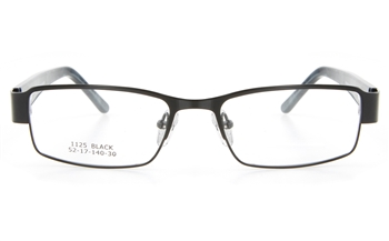 634a13e5ac Vista First 1125 Stainless Steel ZYL Mens Full Rim Optical Glasses - Square  Frame