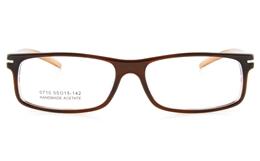Vista First 0710 Acetate(ZYL) Mens Womens Full Rim Optical Glasses - Square Frame for Fashion,Classic Bifocals