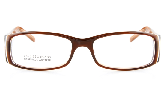 Vista First 0823 Acetate(ZYL) Mens Full Rim Optical Glasses - Square Frame