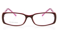 Nova Kids LO5016 Propionate Kids Full Rim Optical Glasses - Square Frame