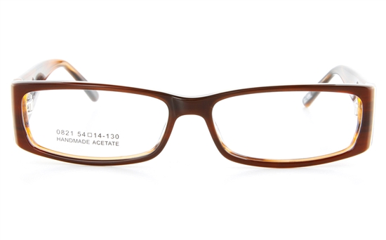 Vista First 0821 Acetate(ZYL) Womens Full Rim Optical Glasses - Square Frame