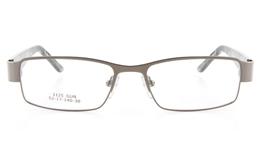 Vista First 1125 Stainless Steel/ZYL  Mens Full Rim Optical Glasses - Square Frame