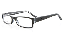 Poesia LO3020 Propionate Mens Full Rim Optical Glasses - Square Frame