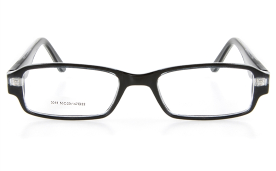 Poesia LO3018 Propionate Mens Full Rim Optical Glasses - Square Frame