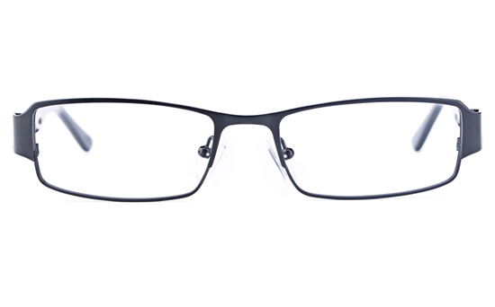 Vista First 1623 Stainless Steel/ZYL  Mens Square Full Rim Optical Glasses