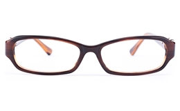 Vista First 0828 Acetate(ZYL) Womens Oval Full Rim Optical Glasses for Fashion,Classic,Party Bifocals
