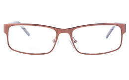 Vista First 1626 Stainless Steel/ZYL  Mens Square Full Rim Optical Glasses for Fashion,Classic,Nose Pads Bifocals