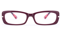 Vista First 0829 Acetate(ZYL) Womens Oval Full Rim Optical Glasses for Fashion,Classic,Party Bifocals