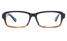 Vista First 0711 Acetate(ZYL) Mens Square Full Rim Optical Glasses for Fashion,Classic,Party Bifocals