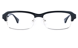 Vista First 1629 Acetate(ZYL) Mens Square Full Rim Optical Glasses for Fashion,Classic,Nose Pads Bifocals